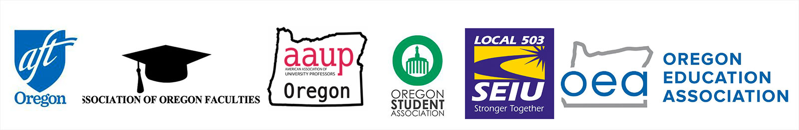 Higher Education Coalition logos